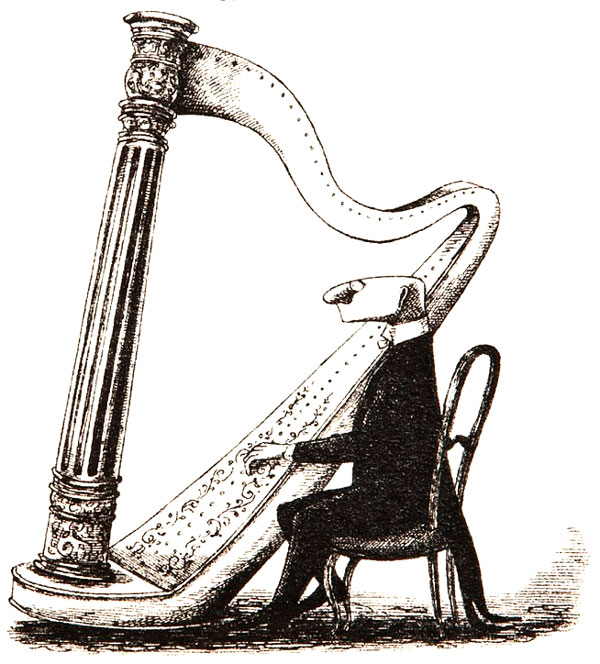 "Edward Gorey, ""The Unstrung Harp"""