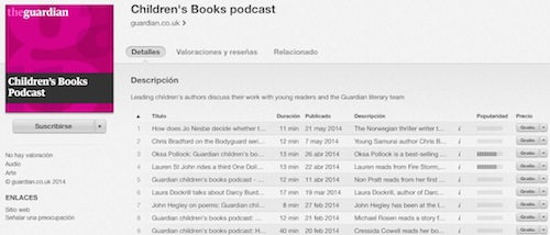Children's Books Podcast (The Guardian)
