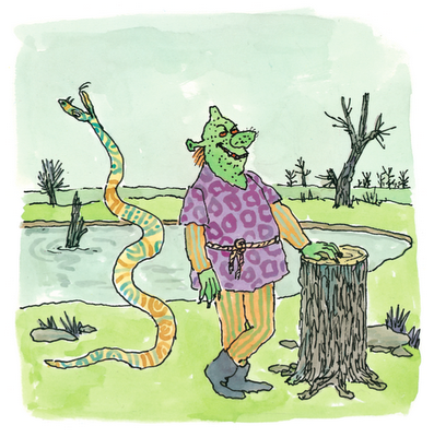 Shrek (ilustración de William Steig)