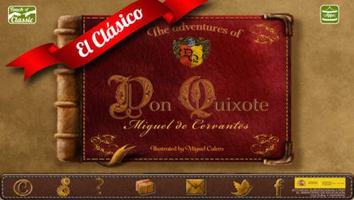 Las aventuras de don Quijote (Touch of Classic)